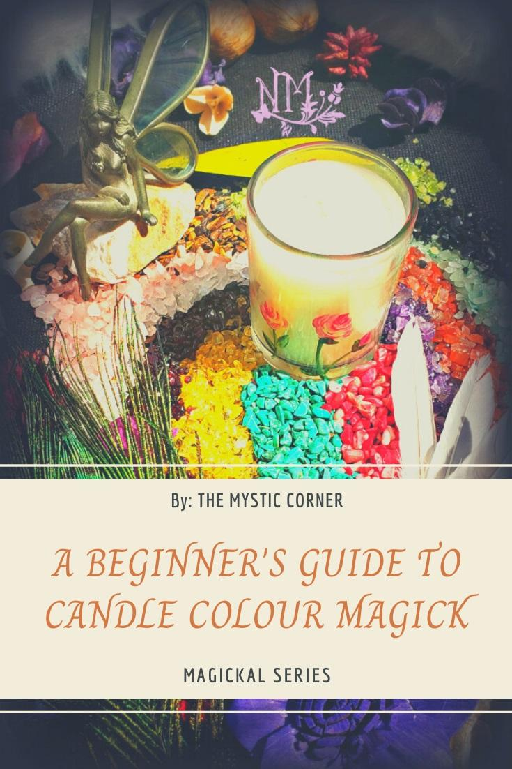 A Beginners Guide to Candle Colour Magick by The Mystic Corner