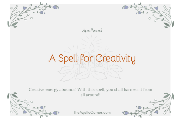 A Spell for Creativity