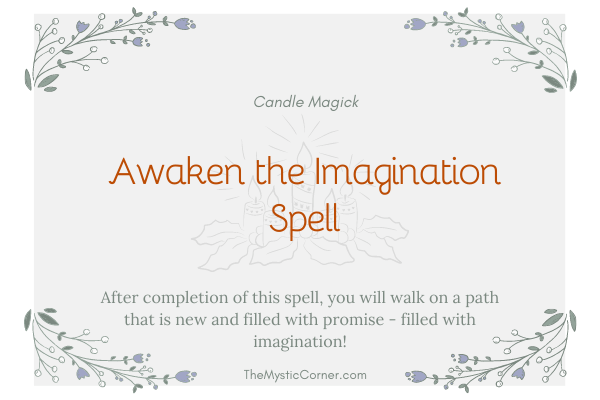Awaken the Imagination Spell