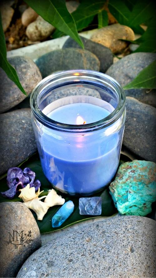 Blue Candle Naia Moonbrook