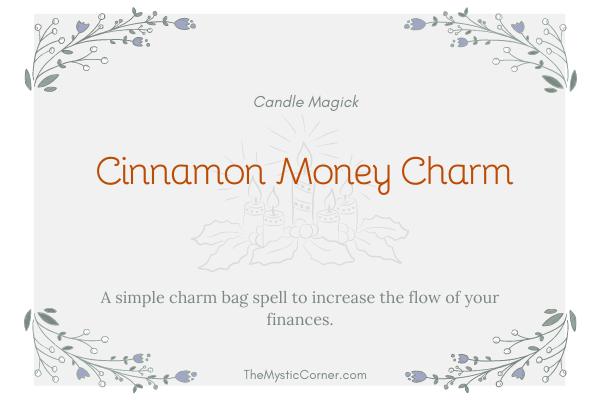 Cinnamon Money Charm