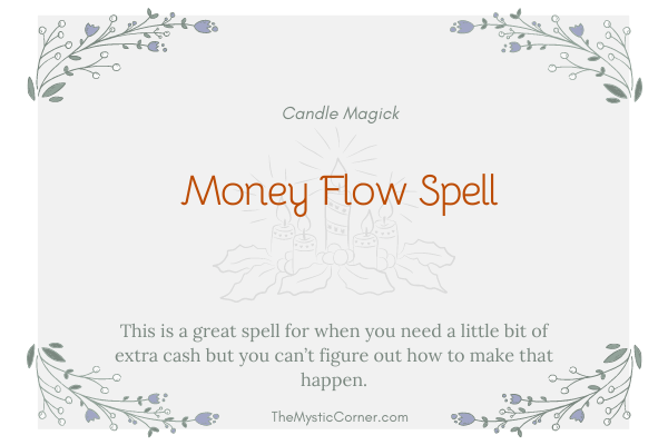 Money Flow Spell