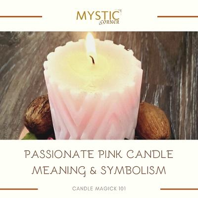 Passionate Pink Candle Meaning & Symbolism featured
