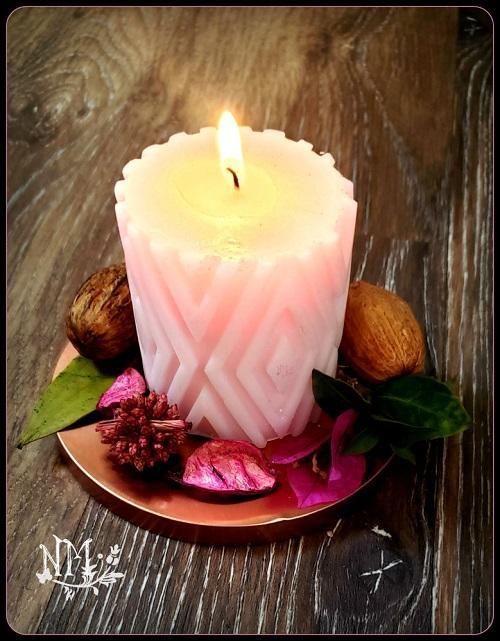 Pink Candle Naia Moonbrook