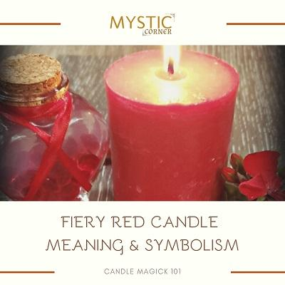 Red Candle Meaning & Symbolism featured