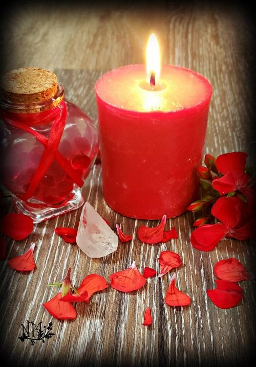 Red Candle Naia Moonbrook