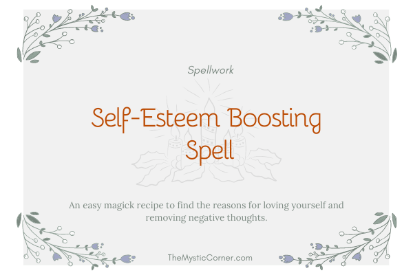 Self-Esteem Boosting Spell