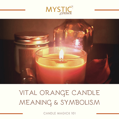 Vital Orange Candle Meaning & Symbolism featured