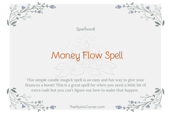 Money Flow Spell