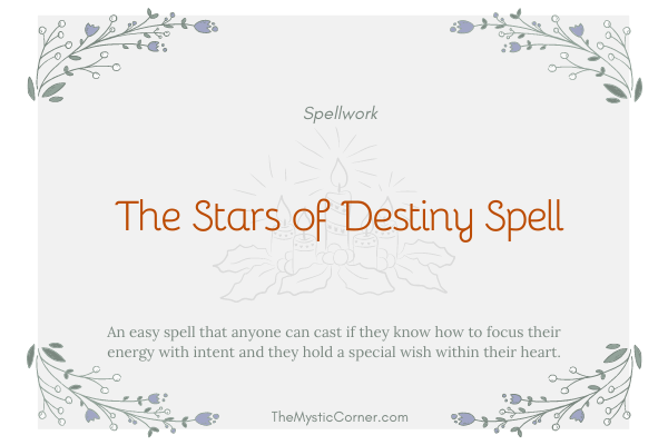 The Stars of Destiny Spell
