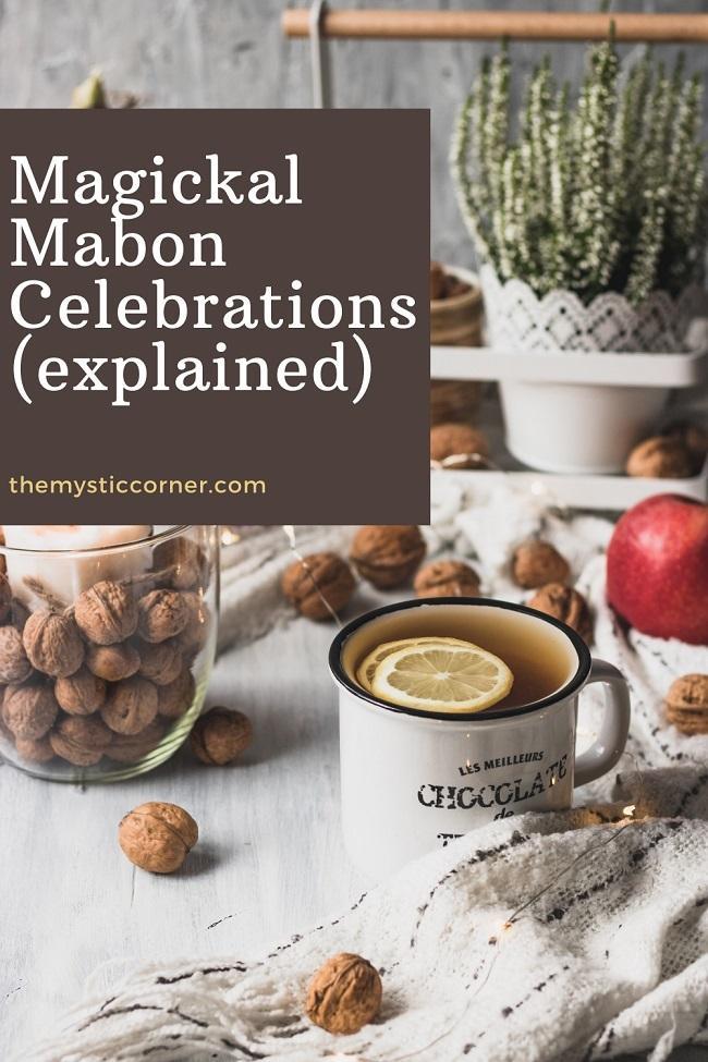 Magickal Mabon Celebrations pin by themysticcorner.com