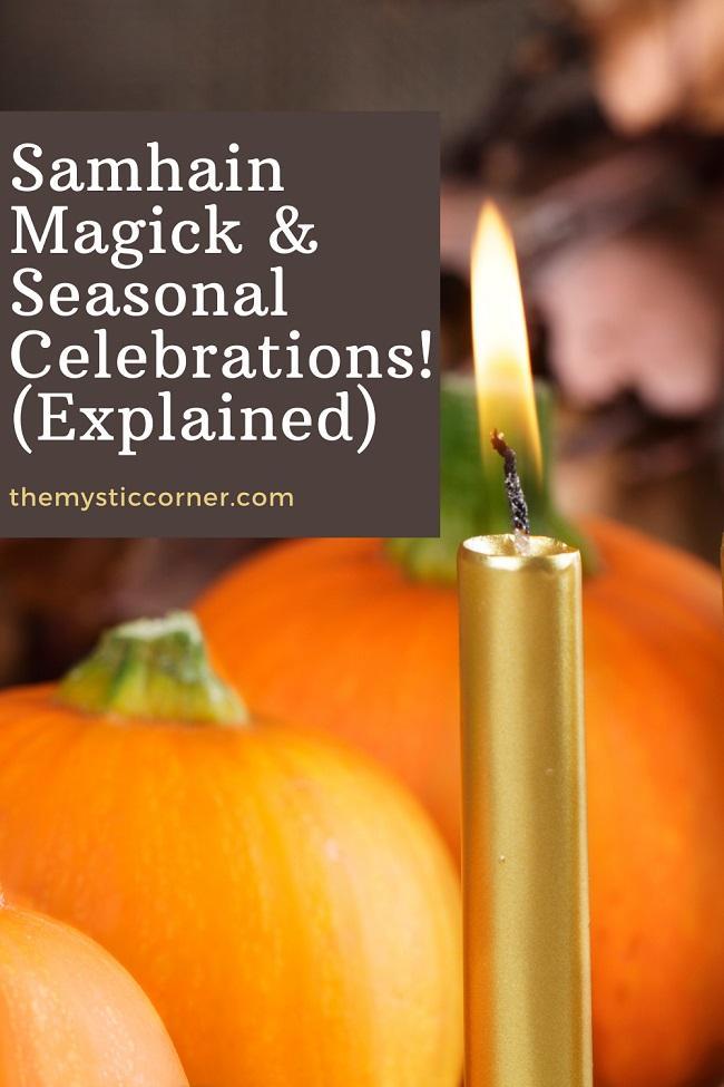 Samhain Magick & Seasonal Celebrations pin