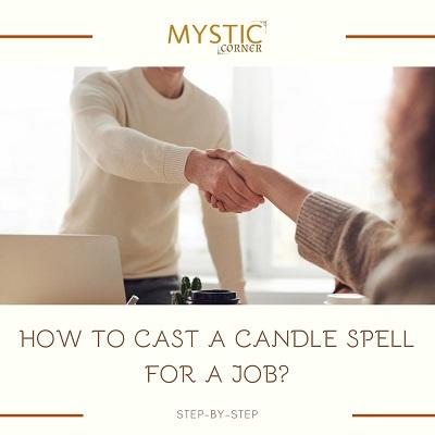 How to Cast a Candle Spell for a Job featured
