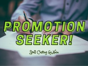 Promotion Seeker- Naia Moonbrook